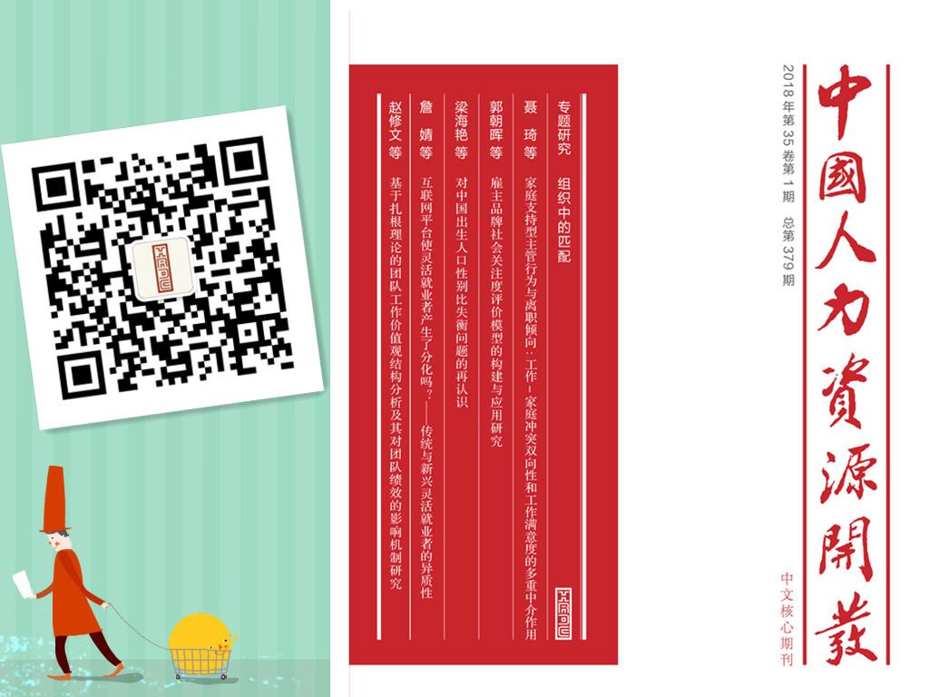 《中国人力资源开发》杂志投稿系统